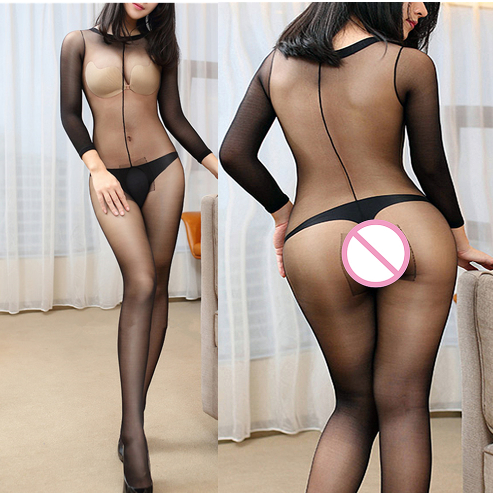 Porno Teddy Babydoll Plus Size Sexy Lingerie Hot Open Crotch Body Stockings Lenceria Nightwear Erotic Costumes Women Sex Clothes