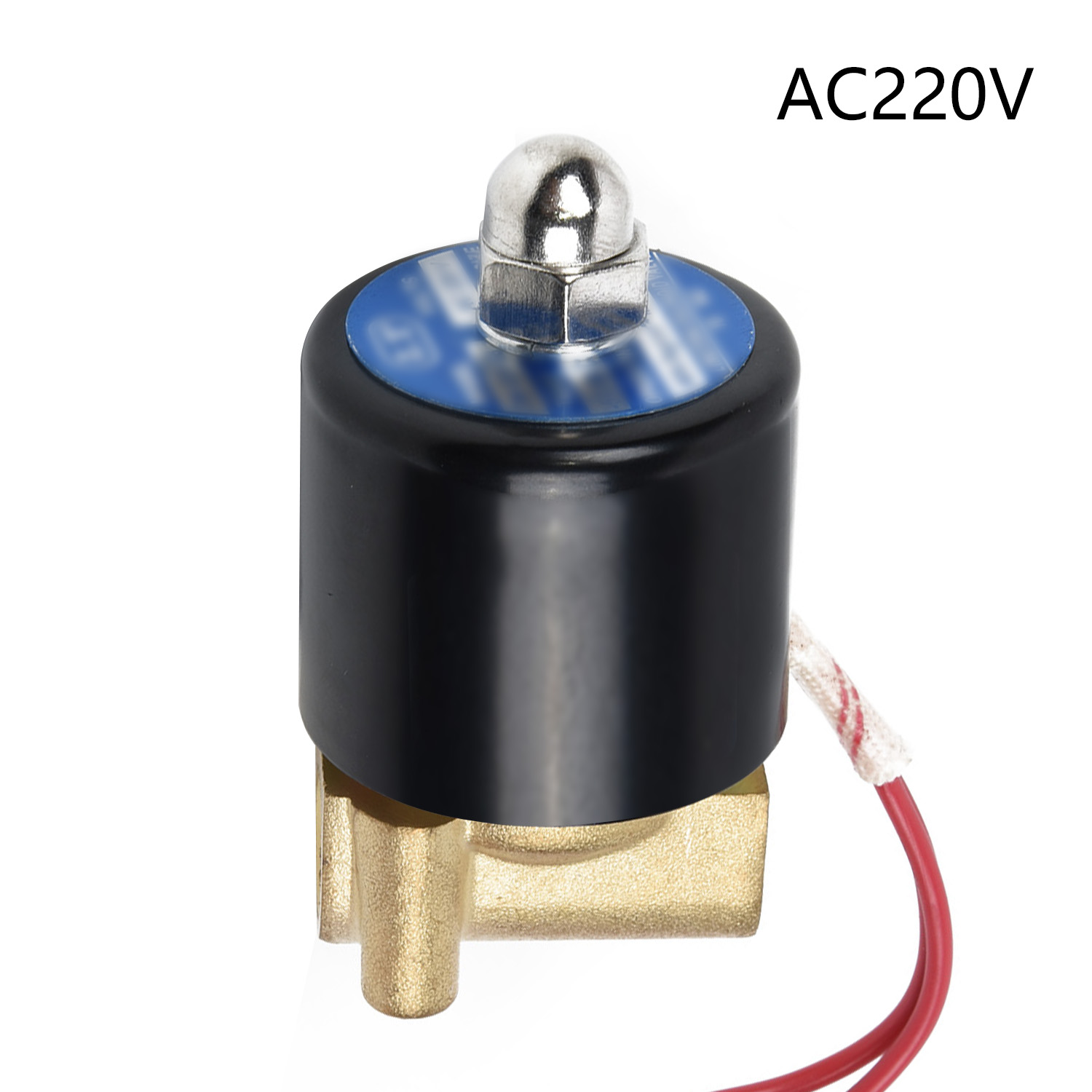 DC 12V G1inch Electric Solenoid Valve for Air Water Oil