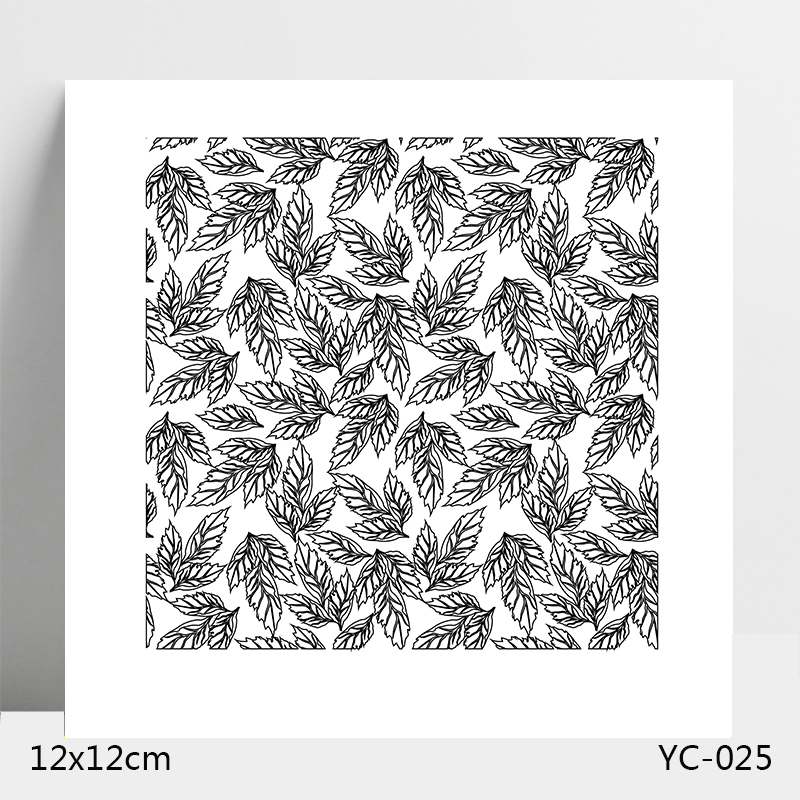 AZSG Leaf Girl Clear Stamps For DIY Scrapbooking Card Making Album Decorative Silicone Stamp Crafts in Stamps from Home Garden