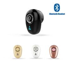 S650 Mini auricular Bluetooth inalámbrico in-ear Auriculares invisibles Auriculares manos libres Auriculares estéreo con micrófono para todos los teléfonos inteligentes