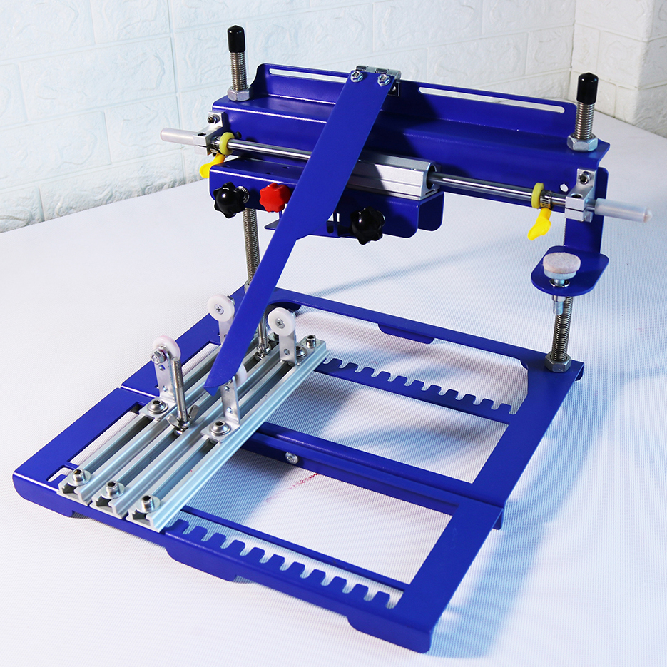 Curved Screen Printing Machine Screen Printing Machine Manual Printing Machine Factory Printing For Plastic Material