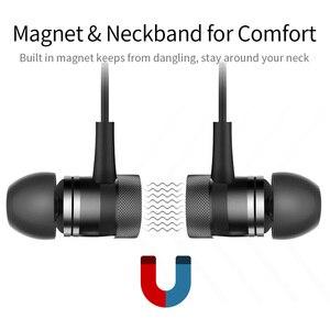 Image 4 - Picun S9 Sport Bluetooth Kopfhörer 5,0 Sweatproof Neckband Drahtlose Kopfhörer mit Mikrofon HiFi Bass Stereo Headset Ohrhörer
