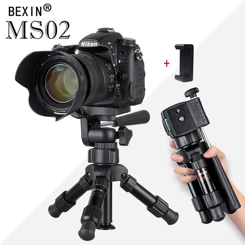 Small Lightweight Tabletop Camera Tripod Phone Stand Holder Portable Desktop Compact Pocket Mini Tripod For Phone Dslr Camera