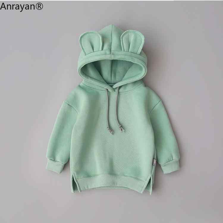 2020 frühling Herbst Baby Jungen Mädchen Kleidung Baumwolle Mit Kapuze Kinder Kinder Lässige Sportswear Infant Kleidung Kinder Pullover Winter