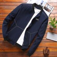 2019 Summer Autumn Mens Jacket Stand Collar Windbr