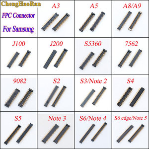 1piece LCD Display Screen FPC Connector For Samsung 7562 9082 S5360 A3 A5 A8 A9 J100 J200 Note 2 3 4 5 S3 S4 S5 S6 edge(China)