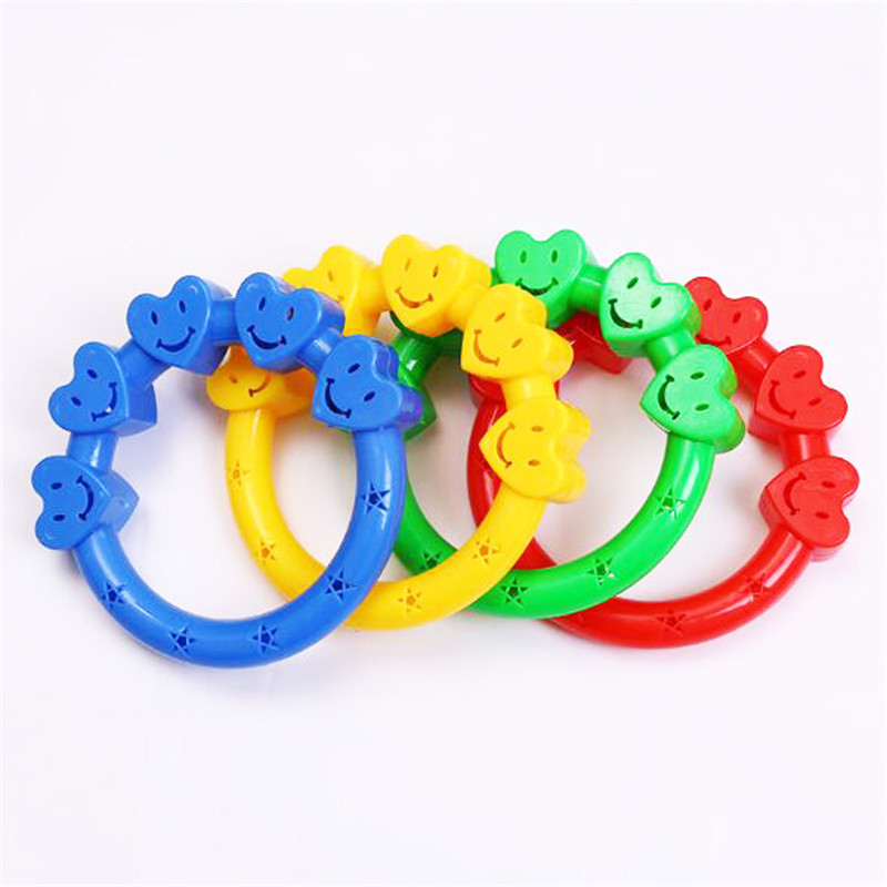 Baby Teether Toys Baby Rattle Heart Stars Rings Crib Bed Stroller Hanging Decoration Educational Toys For Kids 0-12 Months