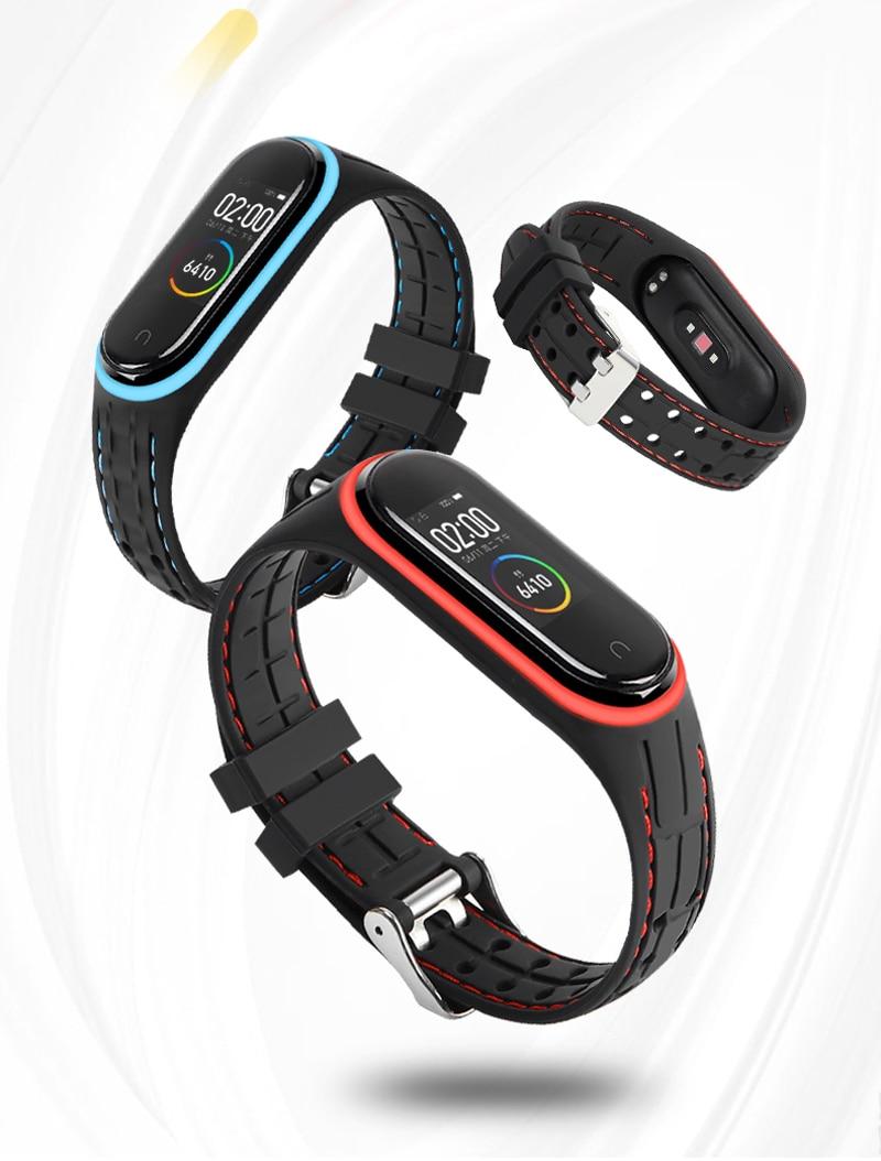 e 4, bracelete para mi band 3