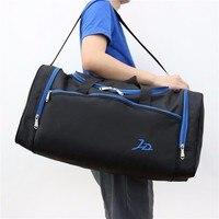 Дорожная сумка мужская и женская спортивная тренировочная фитнес-сумка короткая дорожная сумка Большая вместительная багажная сумка sac de ...