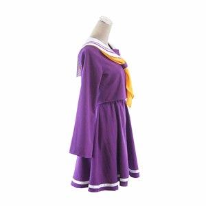 Image 3 - ไม่มีเกมNo Lifeคอสเพลย์Shiroเครื่องแต่งกายฮาโลวีนผู้หญิงเสื้อผ้าCarivalชุดวิกผมชุดกะลาสีญี่ปุ่นโรงเรียน