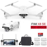 2020 versione FIMI X8 SE drone 8KM FPV Con 3 assi del Giunto Cardanico 4K HD della Macchina Fotografica di GPS 35 minuti Tempo di Volo FIMI X8 SE Drone Quadcopter RTF