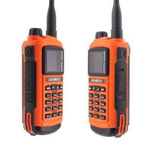 Image 3 - Anysecu AC 580 บลูทูธWalkie Talkie ProfessionalกีฬาวิทยุVHF 136 174MHz UHF 400 520MHz 5WสถานีวิทยุGP8800