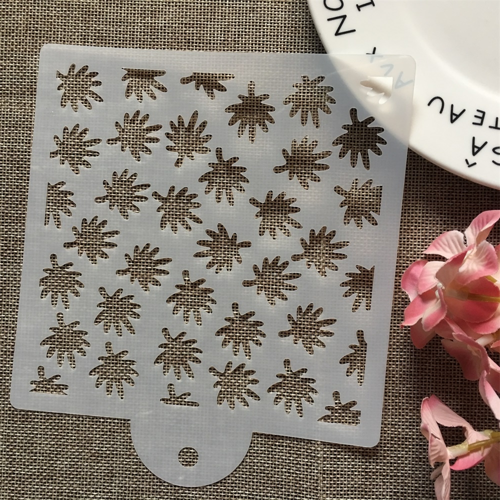 15cm Leaves DIY Layering Stencils Wall Painting Scrapbook Coloring Embossing Album Decorative Card Template