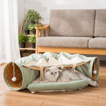 Cat Bed Tunnel Pet Toys