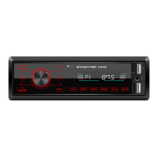 Bluetooth autoradio carro estéreo rádio fm aux entrada receptor sd usb12v in-dash 1 din carro mp3 usb multimídia player 2020 novo