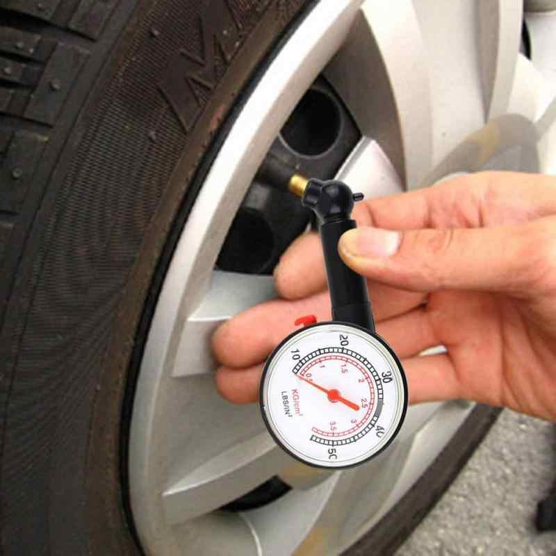 חדש 1PC רכב רכב אופנוע אופניים חיוג לחץ מד מד צמיג משאית אופנוע אופניים בצור כלי מדידה