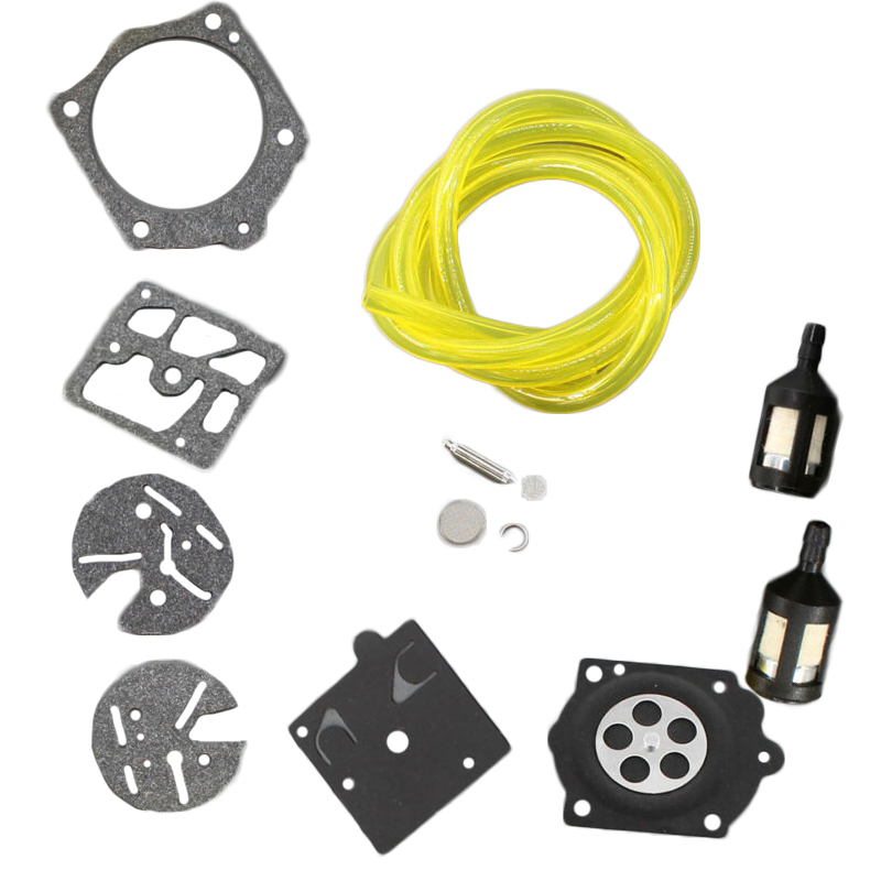Carburetor Repair Kit For Stihl 015 AV 015Ave 015AVQ 015L 015LQ Walbro K10-HDC