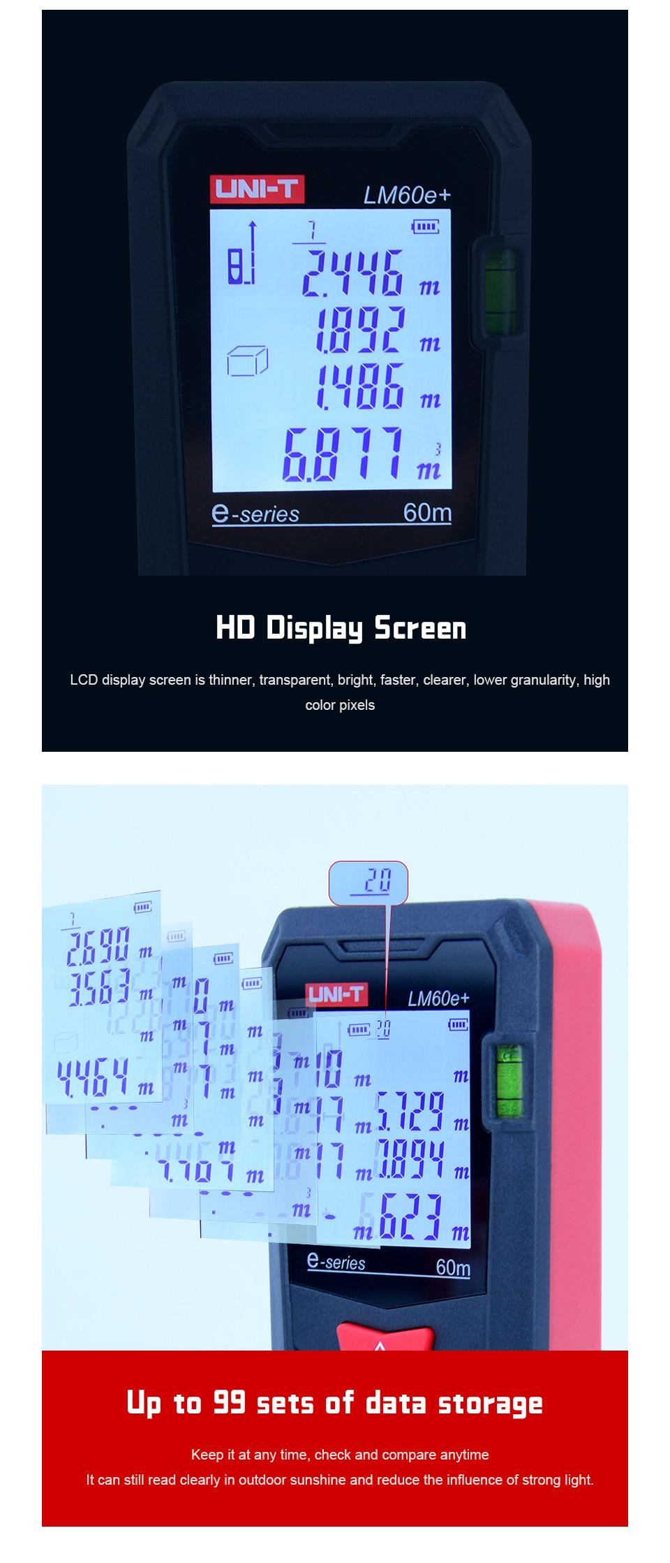 laser digital fita telêmetro trena laser range finder fita de medição