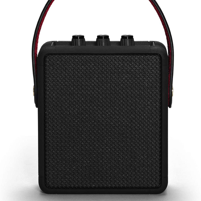 Portable wireless bluetooth speaker rock retro audio speakers for stockwell i ii BT bass Speaker Black Play time 20+h 3