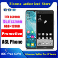 Googel Play оригинальный Hisense A6L сотовый телефон Snapdragon 660 Android 9.0 9,0 дюймов чернила двойной экран 6 ГБ ОЗУ 6,63 Гб ПЗУ 128 МП