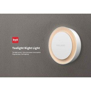 Image 4 - Yeelight lampka nocna z żarówką LED dla dzieci z czujnikiem światłoczułym inteligentna ściana lampa do korytarza sypialnia główna