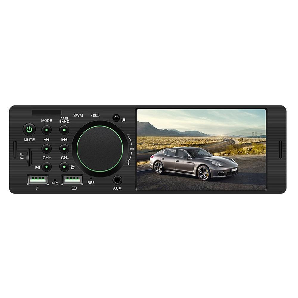 Homehold Smart 4.1 Inch Car Hd Big Screen Bt Car Mp5 Player Car Mp3 Mp4 Card Machine Car Radio Host Reversing Video Player