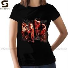 Jurassic World T-Shirt Jurassic World Escape Graphic T Shirt Large Short Sleeve Women tshirt Ladies Tee Shirt
