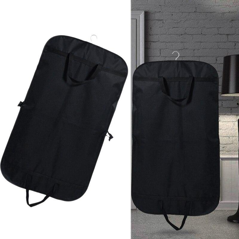 Ev ve Bahçe'ten Giyim Örtüleri'de 100Cm saklama çantası Erkekler için Toz Kapakları Ev Giysileri Organizatör Seyahat Ceket Kapağı Durumda Ev Gereçleri title=