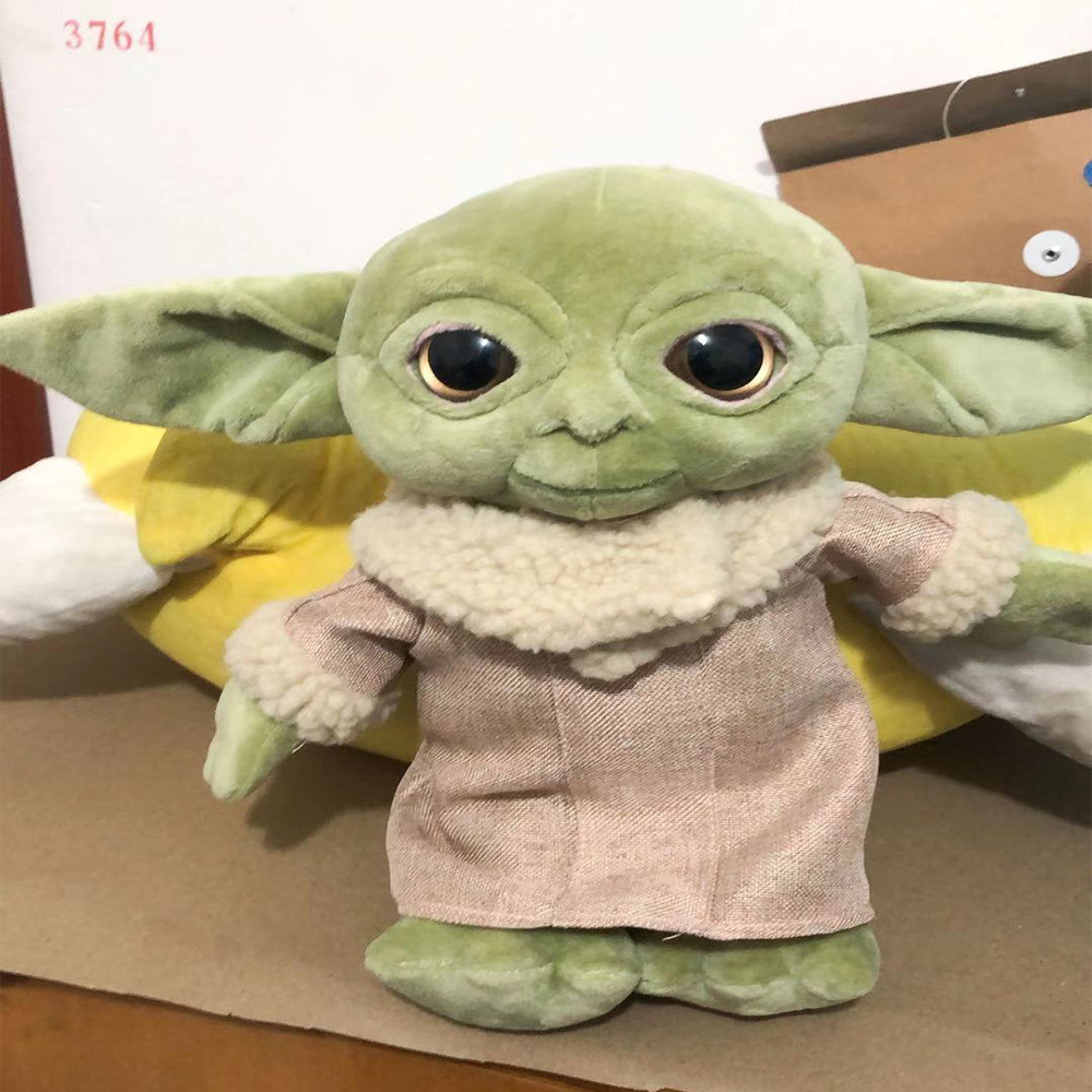30cm Force Awakens Baby Yodaing War Children Plush Toys Cartoon Peluche Cute Star Wisdom Master Kid Stuffed Toy For Kids