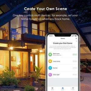 "Image 5 - WiFi חכם חשמלי קיר שקע ארה""ב אלחוטי תקע חנויות מגע לוח בקרת אורות עבודת מכשירי חשמל לבית עם Alexa Google"