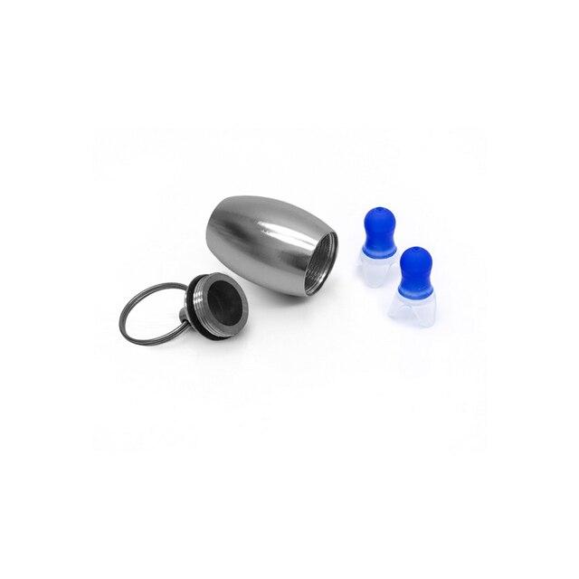 1 زوج مكافحة الضوضاء الأذن حماة إلغاء الضوضاء الأذن المقابس مقاوم للماء لينة سدادات سيليكون للنوم السباحة الطيران