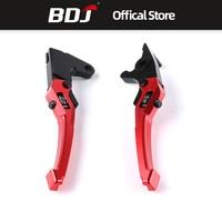 BDJ For Yamaha Aerox155 Brakes 3D Adjustable Hand Levers Brakes Horns