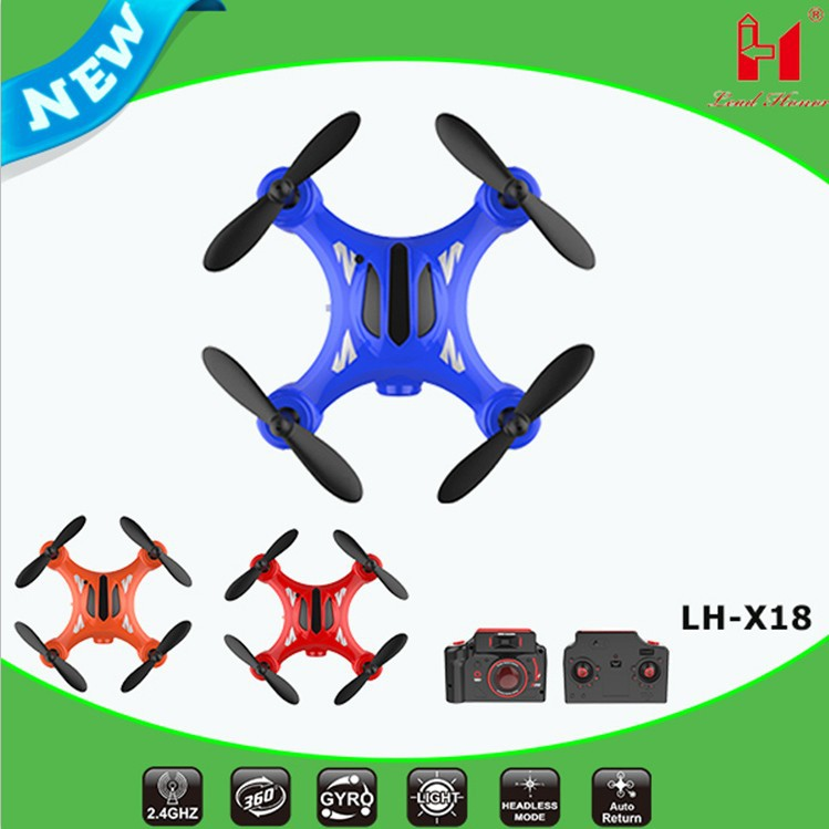 Li Huang X18 Mini Four-axis UAV (Unmanned Aerial Vehicle) Aircraft For Areal Photography Remote Control Aircraft Drop-resistant