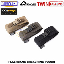 MILITECH Tactical Flashbang Breaching Pouch TWINFALCONS TW Delustered 500D Cordura Made Accessories Bag Flash Smoke Bomb Pouch