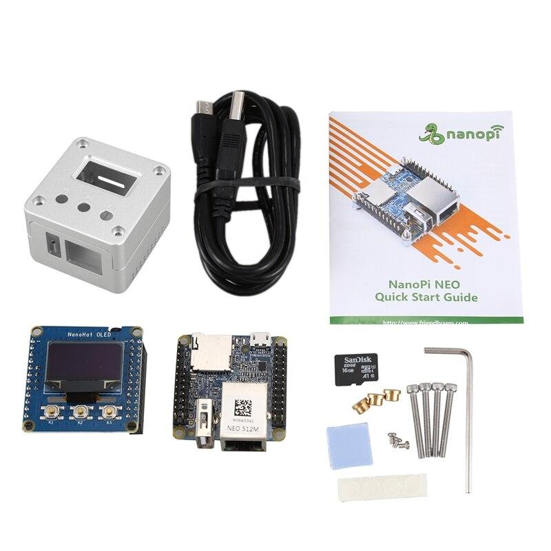 For NanoPi NEO2 V1.4 LTS Development Board Faster Than Raspberry PI 40X40mm (512MB DDR3 RAM) ARM Cortex-A53