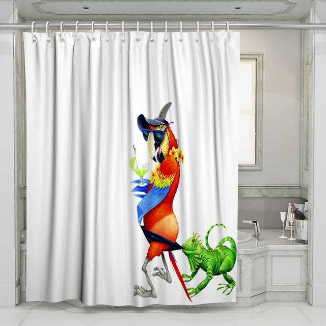 Home Decor Waterproof Shower Curtain