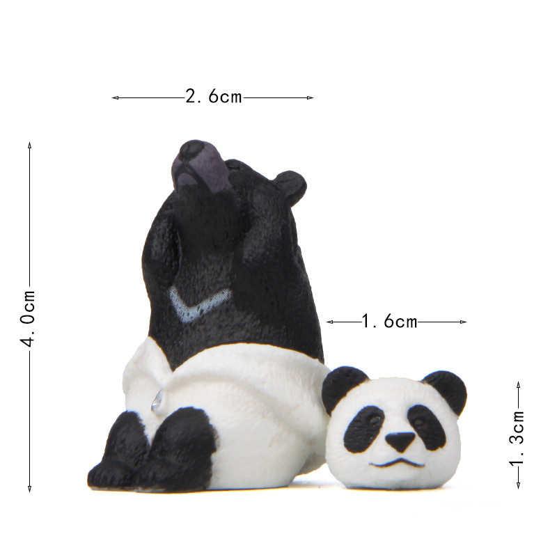 1 個動物コスプレモデルおもちゃドレスアップリトルベアー & 猫犬図 Pvc アクションフィギュアモデルのおもちゃコレクションギフト