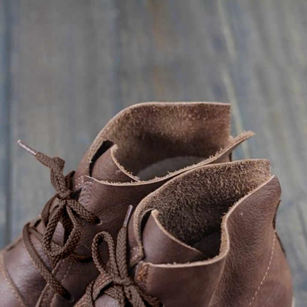 Rome couleur unie femmes bottes d'hiver Vintage femmes bottes plates bottines bottillons basique femmes chaussures doré automne bottes cheville