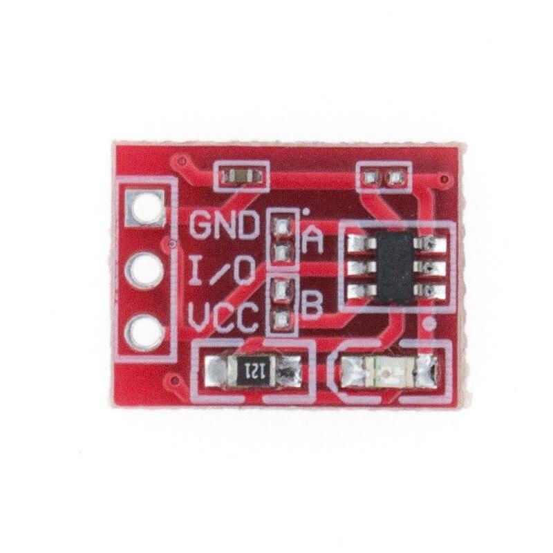Image 3 - 100 шт. TTP223 сенсорный ключ модуль переключателя сенсорная кнопка самоблокирующийся/без блокировки емкостные переключатели одноканальный реконструкция-in Интегральные схемы from Электронные компоненты и принадлежности on AliExpress