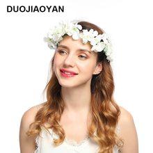 Corona de aro de flores hortensias para retrato femenino, novedad, Estados Unidos, fabricantes de tarjetas de punto al por mayor