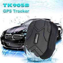 Multi-função dispositivo do veículo carro inteligente tk905b gps tracker 10000 mah bateria à prova dwaterproof água longo tempo de espera alarme de sobrevelocidade