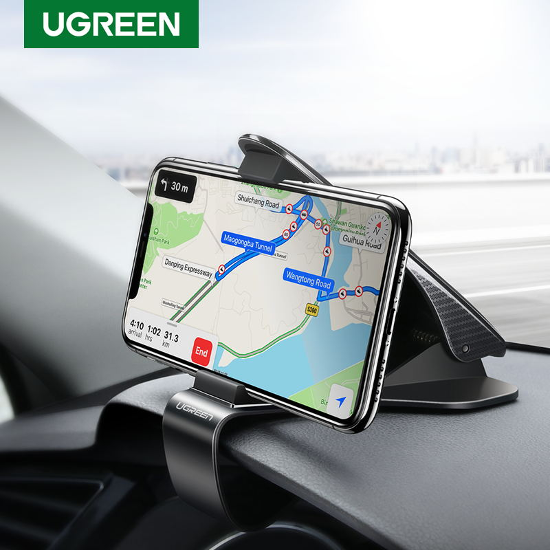 Ugreen Car Phone Holder For Phone Adjustable Holder On Car Dashboard Mobile Phone Holder Stand In Car Car Holder