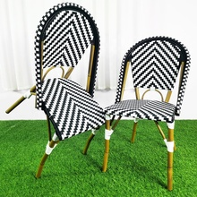 Garden Bistro French Balcony Metal Pub Outdoor Ceramic Dining Table 2 Chair Set