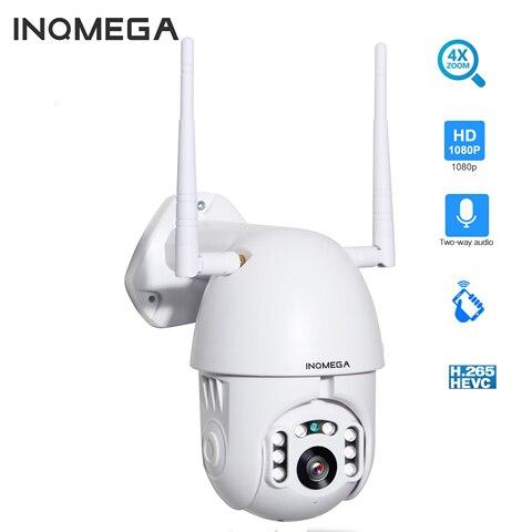 inqmega 4x zoom digital h 265x 1080p ptz ip camera ao ar livre velocidade dome