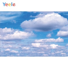 Yeele Landscape Nice Portrait Clouds Sky Small Fresh Photography Backdrop Personalized Photographic Backgrounds For Photo Studio