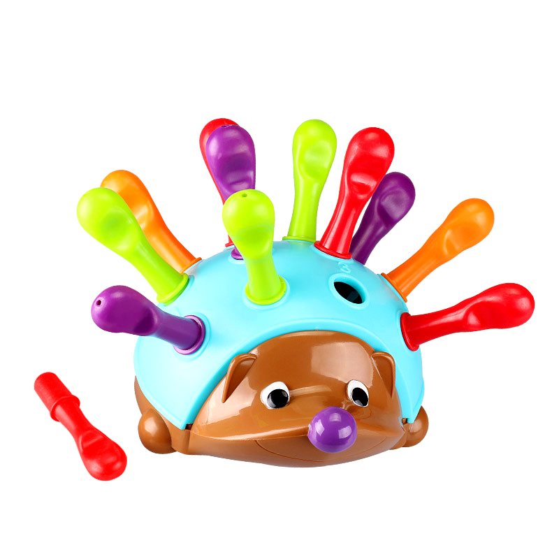 Hedgehog Spelling Toys Children's Concentration Training Puzzle Fine Action Hand-eye Coordination Kindergarten Early Education