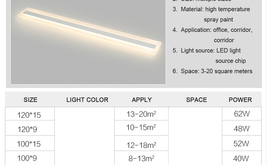 H5974b5d0048f4e19ad1e4a0d43fd6bacq Acrylic Hallway led ceiling lights for living room Plafond home Lighting ceiling lamp homhome lighting fixtures Modern balcony