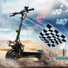 60v 3200W electric scooter adult 11inch Off Road 80KM/H folding electric bike electric skateboard 3200w motor wheel 60v escooter цена