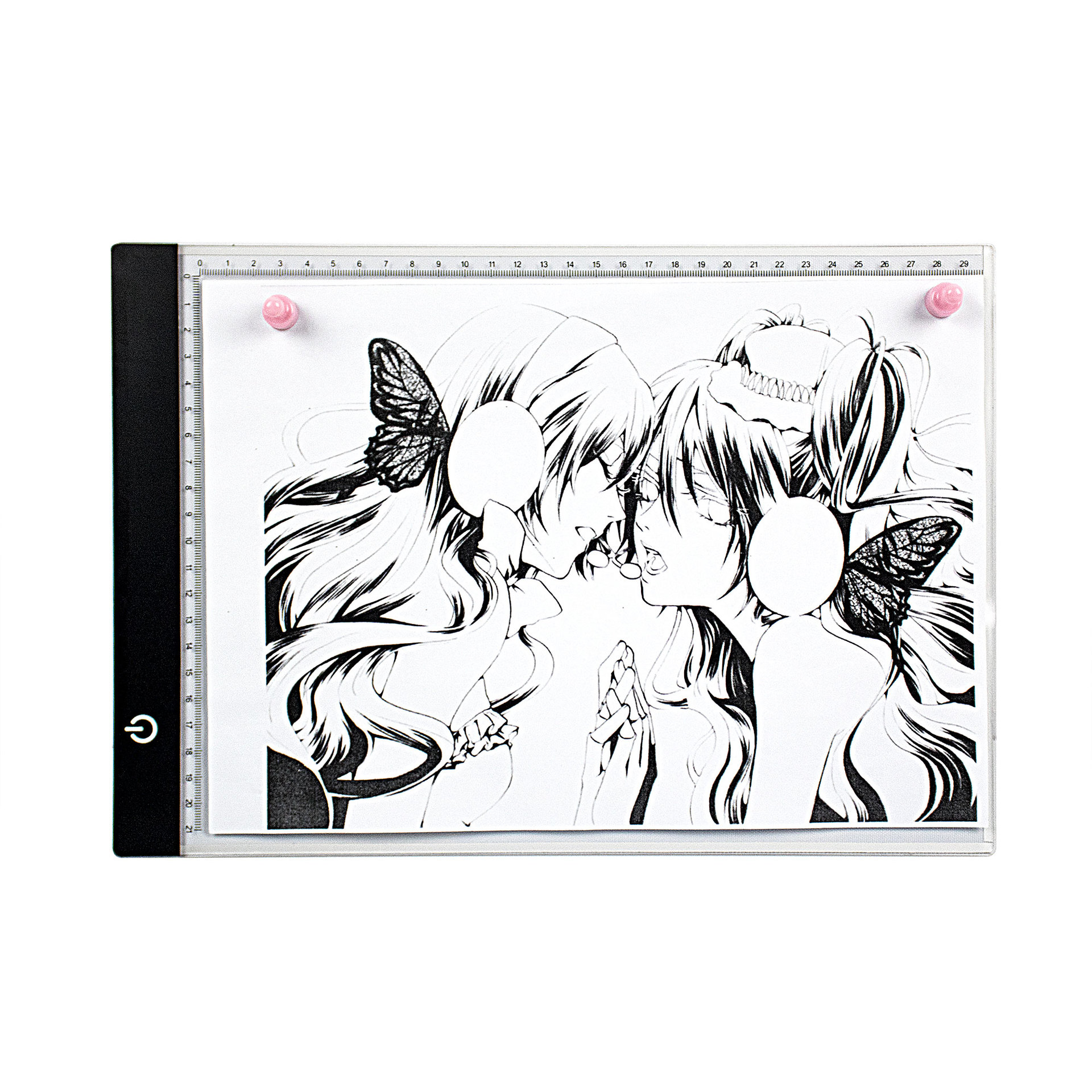 A4 Copy Board Drawing Plate Write-through Board Anime Drawing Board Calligraphy Copy Shining Drawing Board LED Copyboard