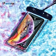 אוניברסלי זוהר עמיד למים פאוץ טלפון מקרה תיק כיסוי נייד חוף יבש תיק קמפינג סקי מחזיק טלפון סלולרי 3.5 6 אינץ